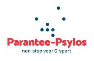 logo Parantee-Psylos, non-stop voor G sport
