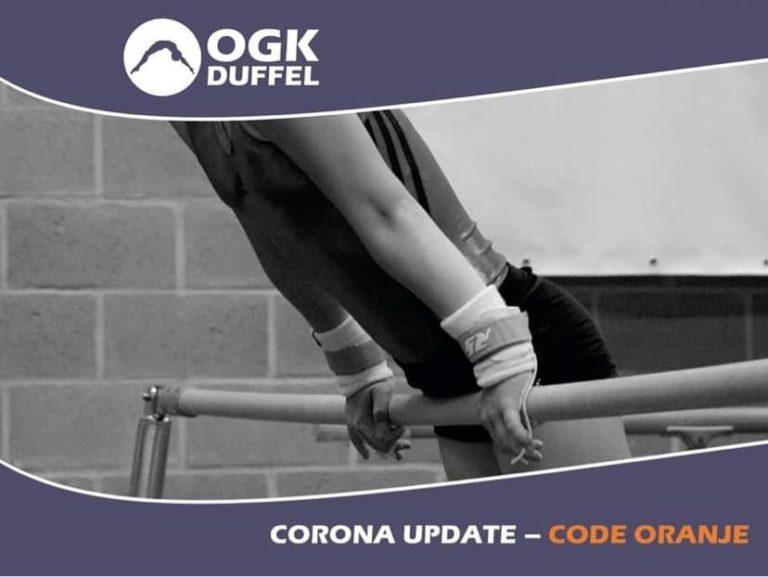 COVID-19 – Code oranje vanaf 14 oktober