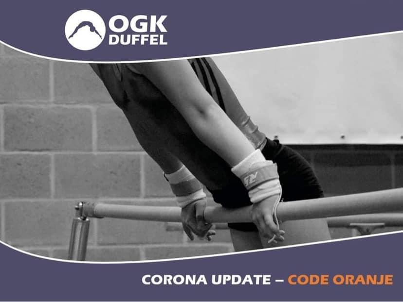 corna update - code oranje - schutblad